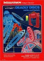 TRON: Deadly Discs - Video game cartridge for the Mattel Intellivision console