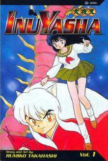 Inuyasha manga cover