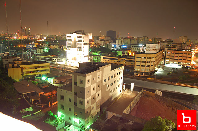 Santo Domingo at night