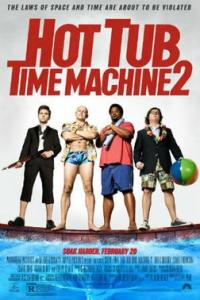 Poster for 2015 comedy sequel Hot Tub Time Machine 2