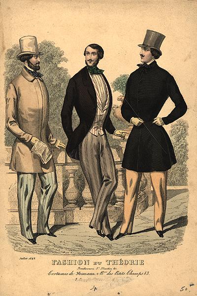 Istorija odevnih predmeta - Page 7 Mens_fashion_plate_1848