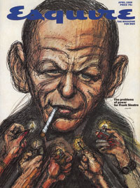 This is the cover of the 1966 Esquire issue that featured Gay Taleses piece, Frank Sinatra Has a  Cold.
