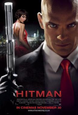 hitman movie poster
