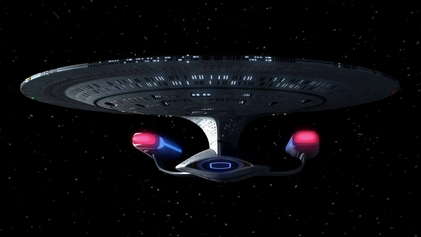 USS Enterprise Star Trek the Next Generation