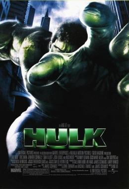 Hulk try to kill Ang lee, but keep missing.