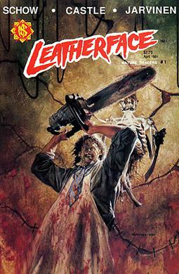 The cover to Leatherface #1, the first in a se...