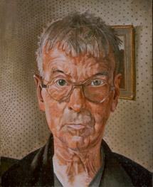 A self portrait of Stanley Spencer (1891-1959)