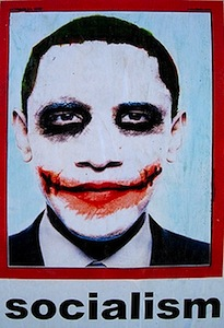 The Obama Joker Socialism Poster