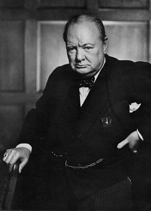 "Winston Churchill's ""Sinews of Peace""..."