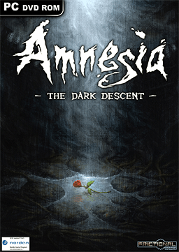 The planned box art for Amnesia: The Dark Descent