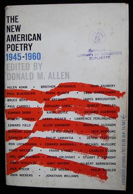 The New American Poetry 1945 1960 Wikipedia