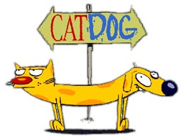 CatDog cartoon from Nickodean