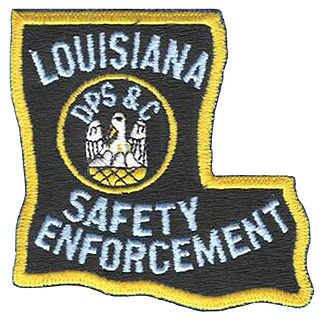 Louisiana DPS&C Safety Enforcement patch