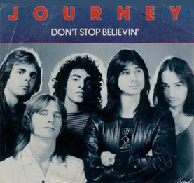 Journey single - Don't Stop Believin'