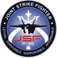 Original F-35 Joint Strike Fighter Logo