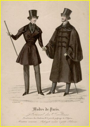 Men%27s fashion silhouette of 1837 1890s Fashion