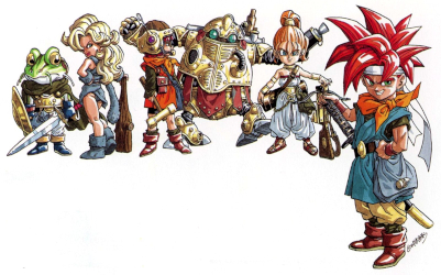 Chrono trigger's cast, more or less