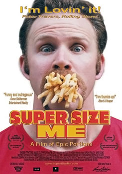 Super Size Me Documentary Movie Poster
