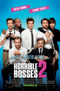 Poster for 2014 comedy Horrible Bosses 2