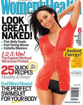 Women's Health magazine, May 2009 issue
