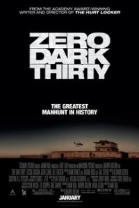 Poster for 2013 thriller Zero Dark Thirty