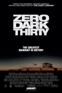 Poster for 2013 thriller film Zero Dark Thirty