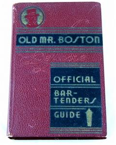 1935 first edition of Old Mr. Boston guide, sh...