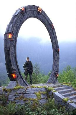 A Stargate from Stargate SG-1.