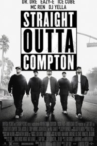 Poster for 2015 rap biopic Straight Outta Compton