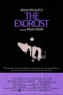 Film poster for The Exorcist - Copyright 1973,...
