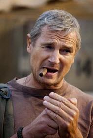 "Liam Neeson as John ""Hannibal"" Smith..."