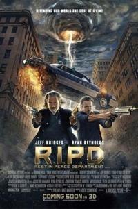 Poster for 2013 fantasy actioner R.I.P.D.