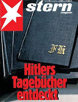 """Hitler's Diaries Discovered"" (Stern)"