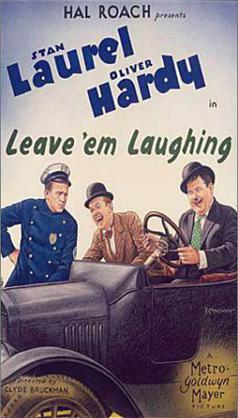 Leave 'em Laughing (1928)