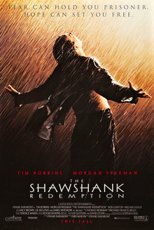 """Promotional poster of the movie, """"The Shawshank Redemption"""""""