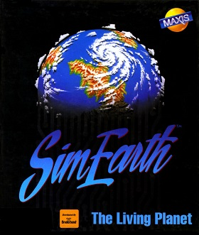 SimEarth PC Game Packaging