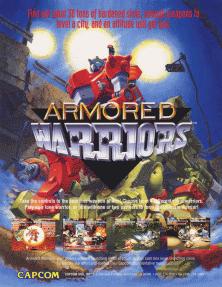 Power Gear Armored Warriors