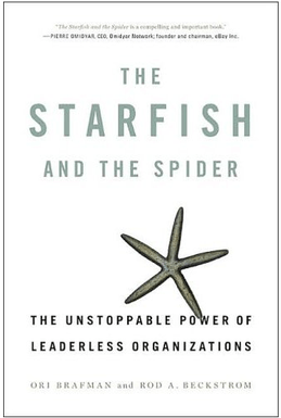 Cover of The Starfish and the Spider