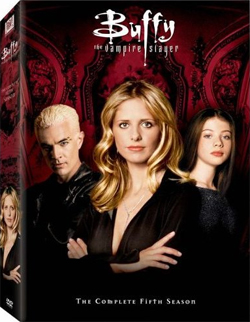 Buffy Season 5 box