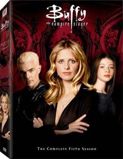 Buffy Season 5 box