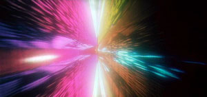 "The ""Star Gate"" sequence, one of man..."