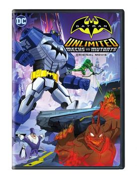 Poster do filme Batman Unlimited Mech vs Mutants