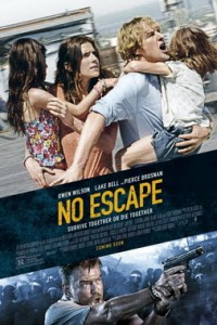 Poster for 2015 thriller No Escape