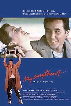 Film poster for Say Anything... (film) - Copyr...