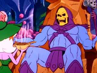Skeletor offered the use of his Havoc Staff before realizing the Fed had one of its own