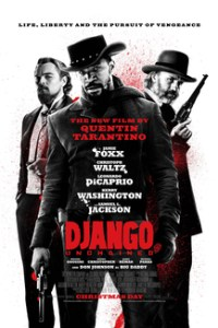 Poster for 2013 western Django Unchained
