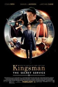 Poster for 2015 action-comedy Kingsman: The Secret Service