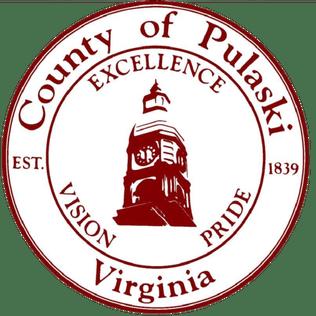 Seal of Pulaski County, Virginia