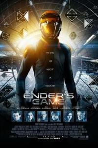 Poster for 2013 sci-fi Ender's Game
