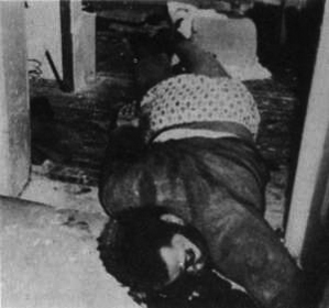 Body of Fred Hampton, after being shot twice i...